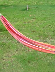 2m * 0.8m Petit Hamac de taille avec sac de tissu Portable (couleur aléatoire)