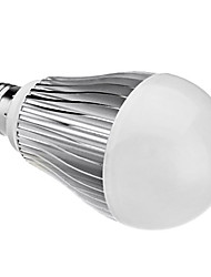 E27 12W 1050LM 6000-6500K Natural White Light LED Ball Bulb (85-265V)