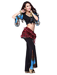 Dancewear Viscose Bauchtanz-Outfit für Damen