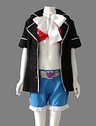 Inspiriert von Blue Exorcist Shura Kirigakure Anime Cosplay Kostüme Cosplay Kostüme Patchwork Schwarz Lange ÄrmelMantel / Kurze Hosen /