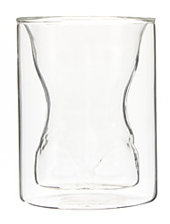 Muscle corps en forme de verre de bière à double paroi