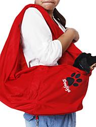 Solo hombro Tipo de Pendiente Gridding Canguro animal doméstico del estilo mochila de viaje para perros
