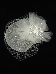 Women's Rhinestone/Imitation Pearl/Net Headpiece - Special Occasion Fascinators