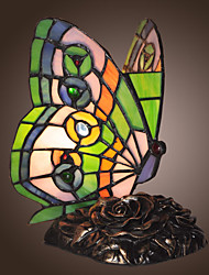 Tiffany-style Butterfly Shape Decoration Lamp (0835-GT706)