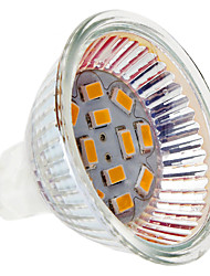 2W GU5.3(MR16) LED Spotlight MR16 12 SMD 5730 230 lm Warm White DC 12 V