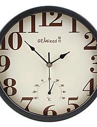 Country Style marcación doble reloj de pared