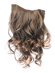 Coupez en Curly Hair Extensions synthétiques avec 5 clips