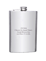 Gift Groomsman Personalized Stainless Steel 9-oz Flask