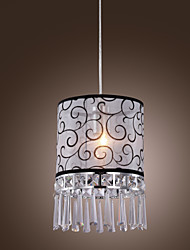 Crystal/Mini Style Pendant Lights , Modern/Contemporary/Drum Living Room/Dining Room/Kids Room/Bedroom