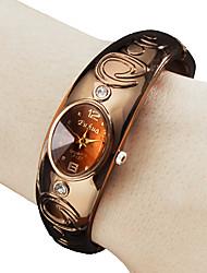 Women's Analog Quartz Metal Bracelet Watch (Bronze) Cool Watches Unique Watches