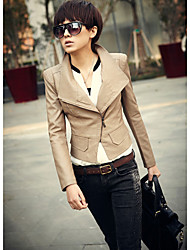 Zipper revers court Slim Jacket
