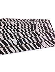 10PCS Emery Nail Files Straight Zebra Stripes