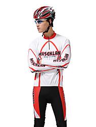 MYSENLAN Новый Разработанный PN сетка + Flex Материал длинным рукавом быстросохнущие Мужские костюмы Велоспорт