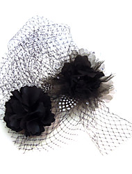 Women's Net Headpiece-Special Occasion Fascinators