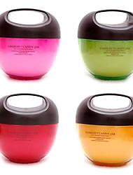 Plastic Candy Jar Sealed Cans Cruet Seasoning Box (Assorted Colors)