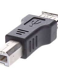 adaptador de impressora USB, usb fêmea para usb