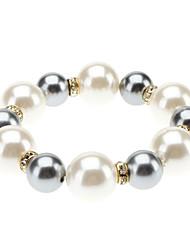 Combinaison de 925 Silver Pearl Bracelet