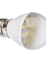E27 3W 20x5050 SMD 220-260LM 6000-6500K Natural White Light LED Ball Bulb (220V)
