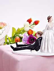 Cake Toppers Happy Bride & Groom  Cake Topper