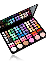 78 Lidschattenpalette Matt / Schimmer Lidschatten-Palette Puder GroßAlltag Make-up / Party Make-up / Halloween Make-up / Feen Makeup /