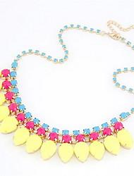 Joli ruban avec Imitation Pearl Necklace