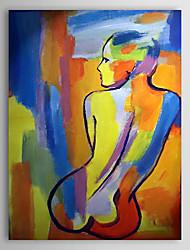 Pintado a mano la pintura al óleo nude con el marco de estirado 1306-LS0286