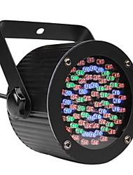 12W AB-1008 Stage Light avec 56 LED de 5 mm (R: 40 G: 18 B: 18) 4pcs