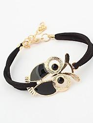 Bracelet de hibou du cru des femmes