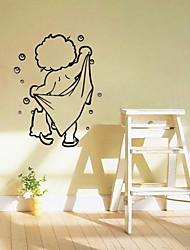 Children Bathroom Wall Sticker