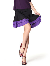Practice Dancewear Viscose Latin Dance Skirts For Ladies More Colors