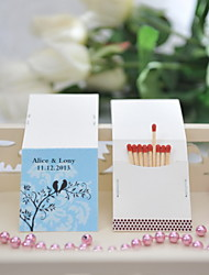 Wedding Décor Personalized Matchbooks - Birds On Branch (Set of 25)