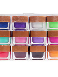 12 Farbige Pure Color Builder Gel Nail Art 8ml