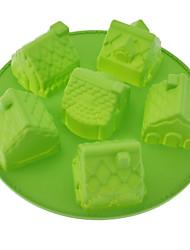 House Shaped Silicone Cake Mould