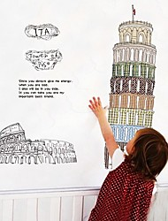 Tower of the Pisa Wall Sticker