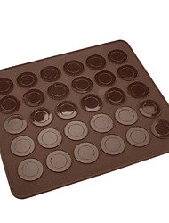 30 Holes Silicone Macaroon Cookies Mat CM-83