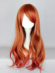 Lolita Wigs Sweet Lolita Lolita Long Red / Brown Lolita Wig 65 CM Cosplay Wigs Solid Wig For Women
