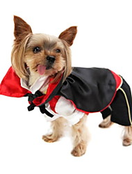 Dog Coat Red Spring/Fall Vampires Cosplay
