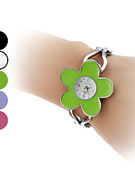 Mulheres Quartz Banda Bracelete Prata marca-