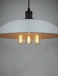 Bulb Included Pendant Lights , Traditional/Classic/Retro/Bowl Living Room/Dining Room/Bedroom/Study Room/Office