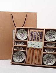 Graceful Sakura Tableware Set In Gift Box (More Colors)