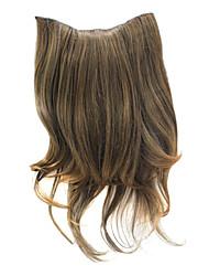 """20 """"Клип на наращивание волос вьющимися Браун"""