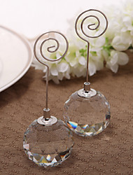 Crystal / Iron Place Card Holders - Piece/Set