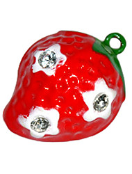Cute Cartoon Strawberry Pattern Little Bell for Dogs (Assorted Sizes)
