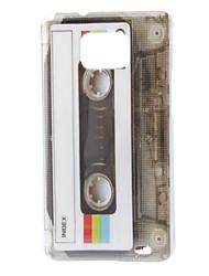 Retro Kassette Stil Schutzmaßnahmen Hartplastik zurück Fall für Samsung Galaxy S2 i9100