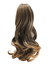 20 couleurs populaires vague Ponytail Hair Extensions mixtes synthétiques pouces