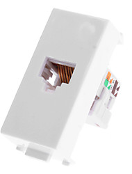 CAT5 Extender Wall Plate - Single Port (1P) CAT5 to Lead