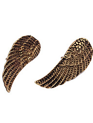 Vintage Antique Copper Wings Pattern Brooch