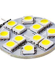 3W G4 2-pins LED-lampen 12 SMD 5050 50 lm Natuurlijk wit DC 12 V