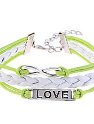 lureme®love und unendliche Muster geflochten Armband