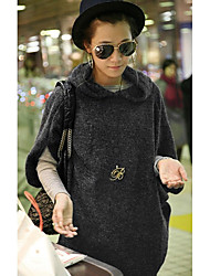 Women's Hooded Knitted Jumper